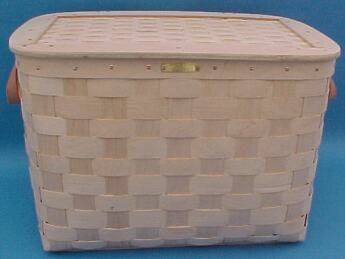 Large Chest - Matted Lid & Chain