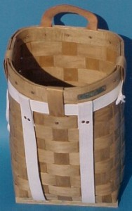 "The Basket Man - 16"" Pack Basket"