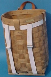 "The Basket Man - 18"" Pack Basket"
