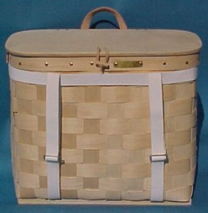 The Basket Man - Pannier with Harness