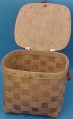 The Basket Man - Hat Box