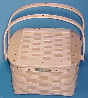 The Basket Man - Pie Taker Basket With Insert