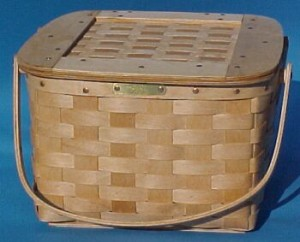 The Basket Man - Square Picnic Basket